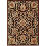GIL17 Brown-Traditional-Area Rugs Weaver