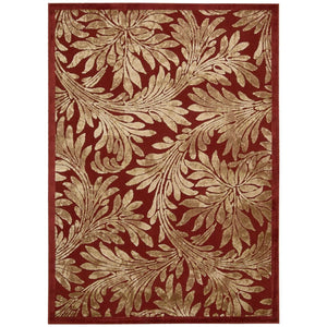 GIL19 Red-Transitional-Area Rugs Weaver