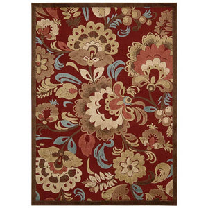 GIL23 Red-Transitional-Area Rugs Weaver