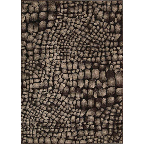 MA509 Black-Animal Print-Area Rugs Weaver