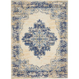 GRF14 White-Vintage-Area Rugs Weaver