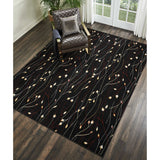 GRF15 Black-Transitional-Area Rugs Weaver