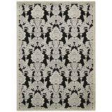 GIL03 Black-Transitional-Area Rugs Weaver