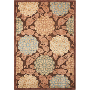 GIL13 Brown-Transitional-Area Rugs Weaver
