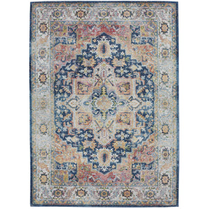 ANR11 Blue-Vintage-Area Rugs Weaver