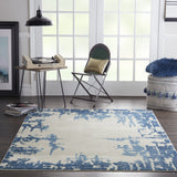 ETC04 Ivory-Modern-Area Rugs Weaver