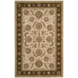 HE19 Beige-Traditional-Area Rugs Weaver