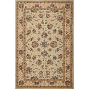 HE28 Cream-Traditional-Area Rugs Weaver