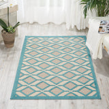 ALH03 Blue-Outdoor-Area Rugs Weaver