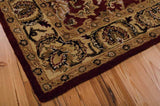IH17 Burgundy-Traditional-Area Rugs Weaver