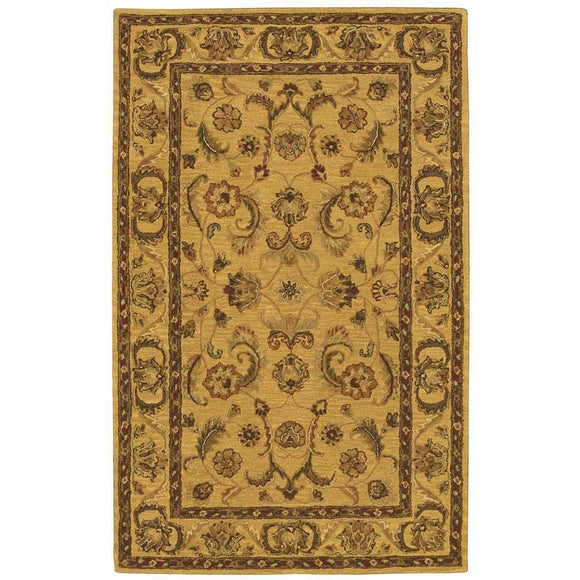IH19 Gold-Traditional-Area Rugs Weaver