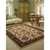 IH60 Beige-Traditional-Area Rugs Weaver