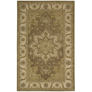 IH66 Green-Traditional-Area Rugs Weaver