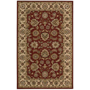 IH72 Red-Traditional-Area Rugs Weaver