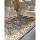 IH75 Blue-Traditional-Area Rugs Weaver