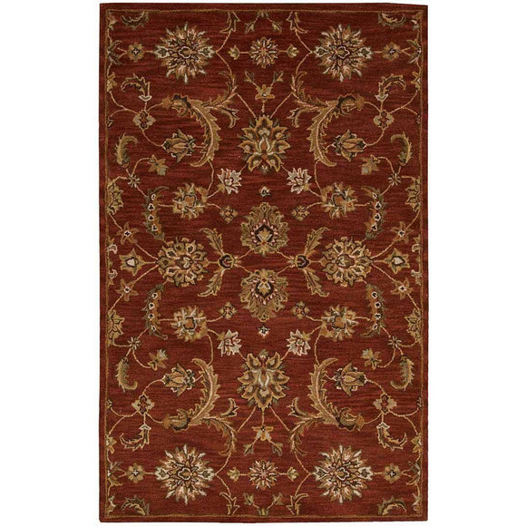 IH83 Brown-Traditional-Area Rugs Weaver
