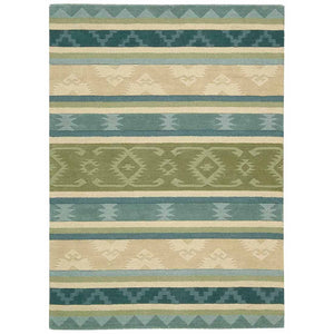 IH84 Blue-Traditional-Area Rugs Weaver