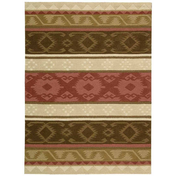 IH85 Brown-Traditional-Area Rugs Weaver