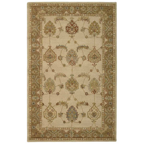 IH87 Ivory-Traditional-Area Rugs Weaver