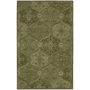 IH88 Green-Traditional-Area Rugs Weaver