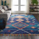 NMD05 Navy-Transitional-Area Rugs Weaver