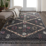 DNK01 Grey-Shag-Area Rugs Weaver