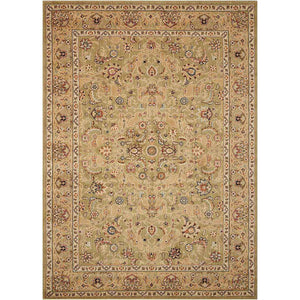 KI600 Green-Traditional-Area Rugs Weaver