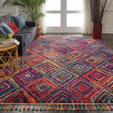 NMD01 Red-Transitional-Area Rugs Weaver
