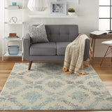 TRA09 Ivory-Modern-Area Rugs Weaver