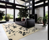 LH08 Black-Transitional-Area Rugs Weaver
