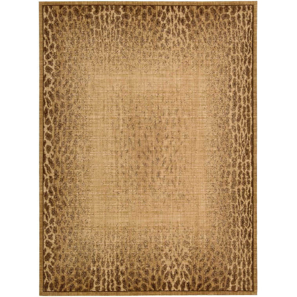 LK06 Beige-Animal Print-Area Rugs Weaver