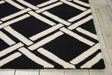LIN04 Black-Casual-Area Rugs Weaver