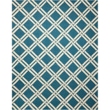 LIN04 Teal-Casual-Area Rugs Weaver