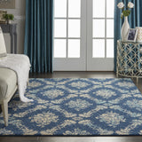 TRA09 Navy-Modern-Area Rugs Weaver