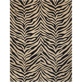 MA401 Black-Animal Print-Area Rugs Weaver