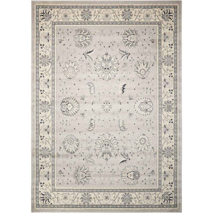 MYN03 Silver-Traditional-Area Rugs Weaver