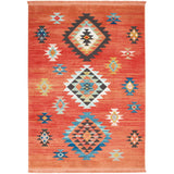NAV07 Red-Tribal-Area Rugs Weaver