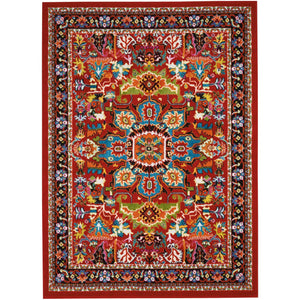 OKD06 Red-Modern-Area Rugs Weaver