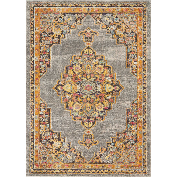 PST01 Grey-Traditional-Area Rugs Weaver