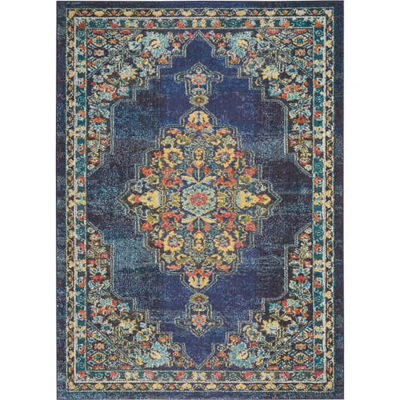 PST01 Navy-Traditional-Area Rugs Weaver