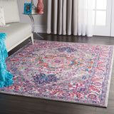 PSN20 Grey-Traditional-Area Rugs Weaver