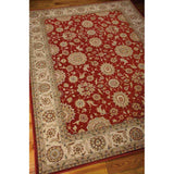 PC002 Red-Traditional-Area Rugs Weaver