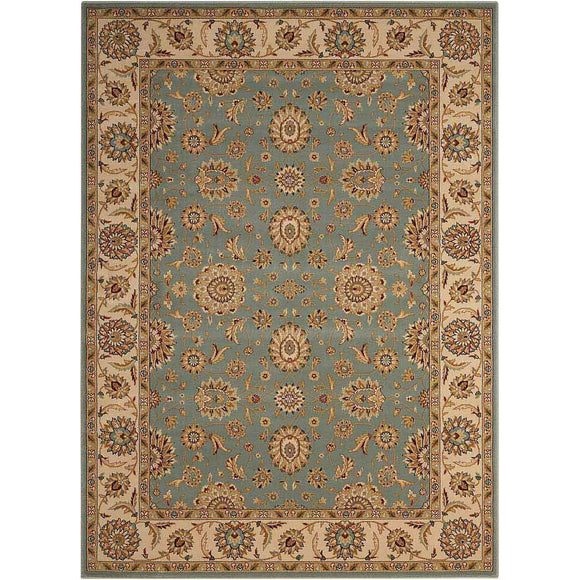 PC002 Blue-Traditional-Area Rugs Weaver