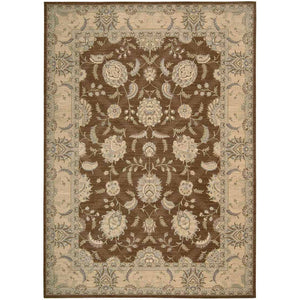 PE22 Brown-Traditional-Area Rugs Weaver