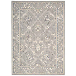 PE22 Grey-Traditional-Area Rugs Weaver