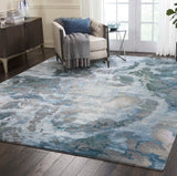 PRS14 Grey-Modern-Area Rugs Weaver