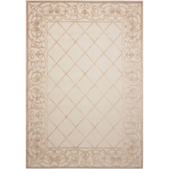 ALH16 Cream-Outdoor-Area Rugs Weaver