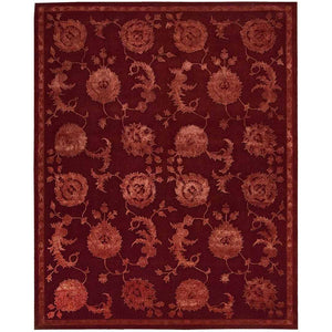 REG03 Red-Traditional-Area Rugs Weaver