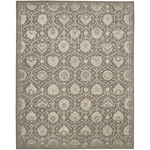 REG04 Grey-Traditional-Area Rugs Weaver