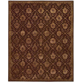 REG05 Brown-Traditional-Area Rugs Weaver